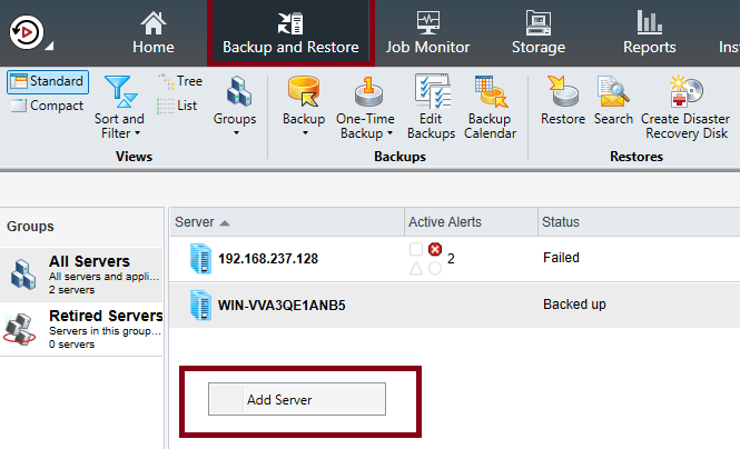 How to install Remote Agent for Windows Servers in Backup Exec 20.5 436