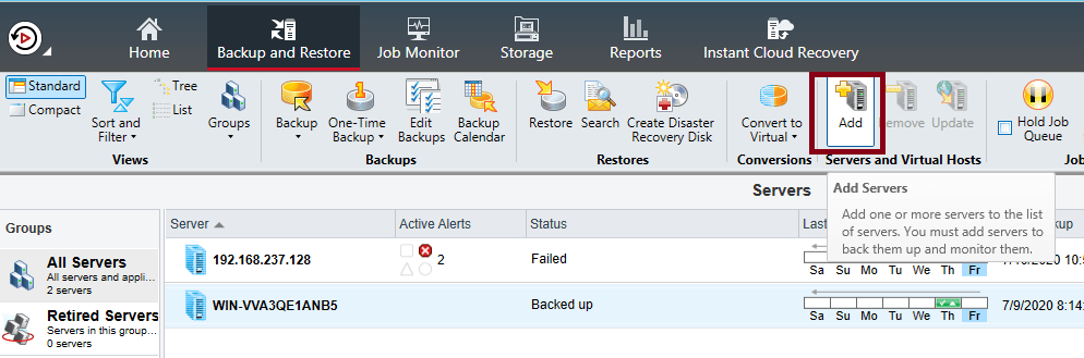 How to install Remote Agent for Windows Servers in Backup Exec 20.5 437