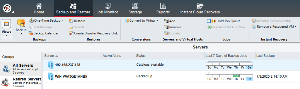 How to install Remote Agent for Windows Servers in Backup Exec 20.5 448