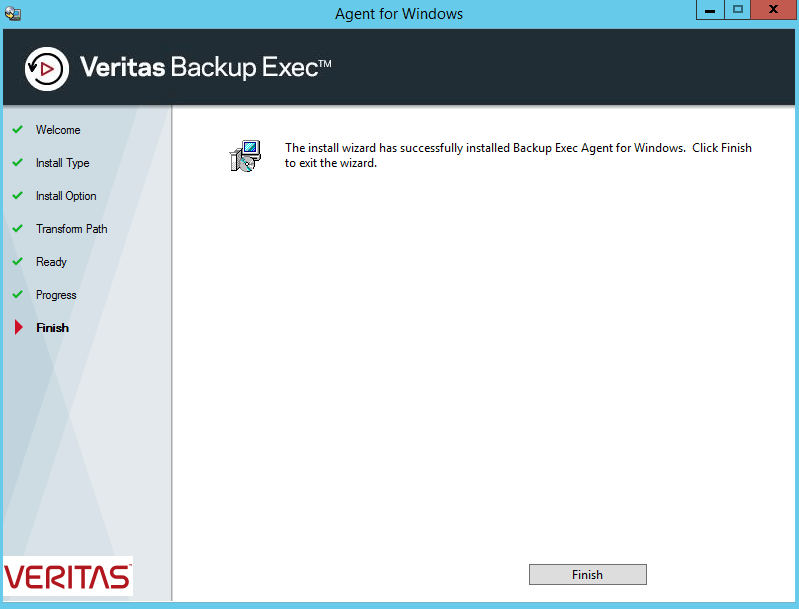 How to install Backup Exec Remote Agent for Windows manually? 434