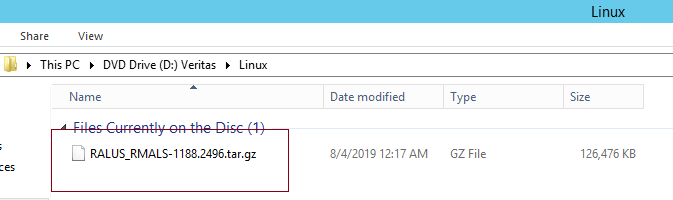 How to install Remote Agent on Linux server in Backup Exec 20 407
