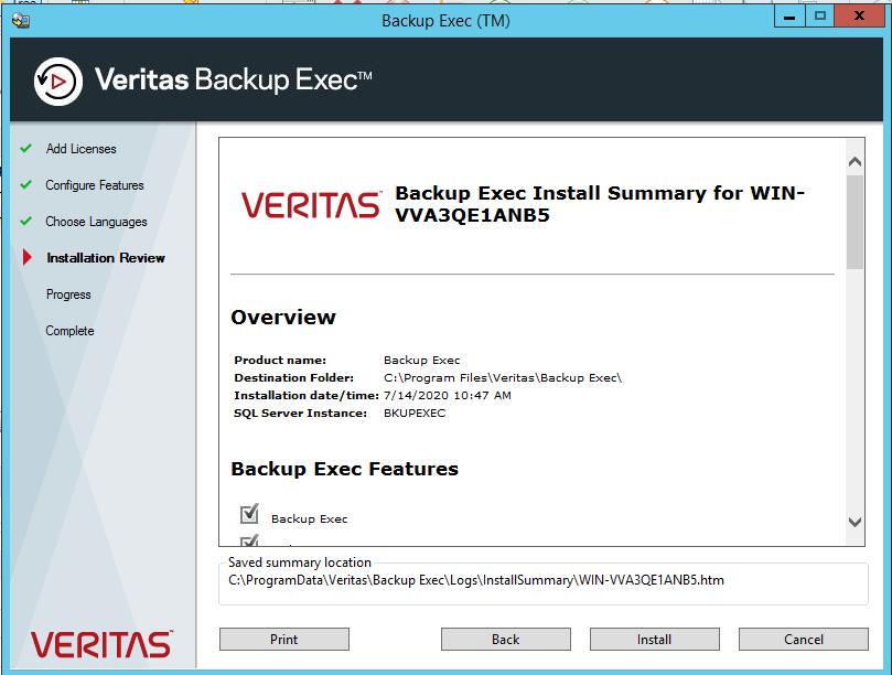How to add Netapp Storage to Backup Exec 20? 394