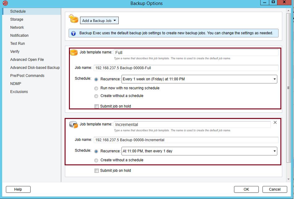 How to backup NDMP Filer (NetApp Storage) in Backup Exec 20 385