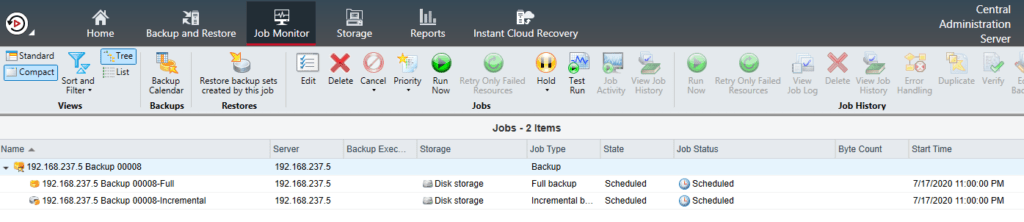 How to backup NDMP Filer (NetApp Storage) in Backup Exec 20 387