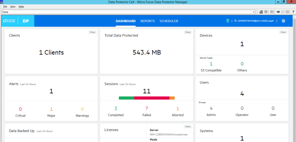 How to add cloud storage to Data Protector 10 368