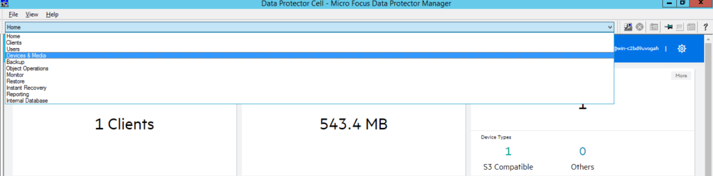 How to add cloud storage to Data Protector 10 369