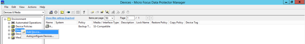 How to add cloud storage to Data Protector 10 370