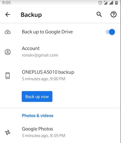 How to take full backup of Android phone on PC 345