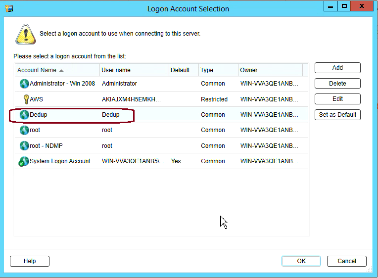How to create Deduplication storage in Backup Exec 20 311