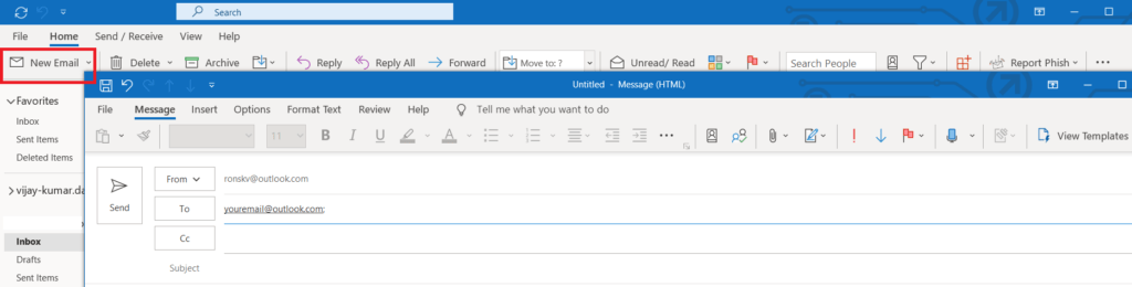 What are the features of Microsoft Outlook 365? 166