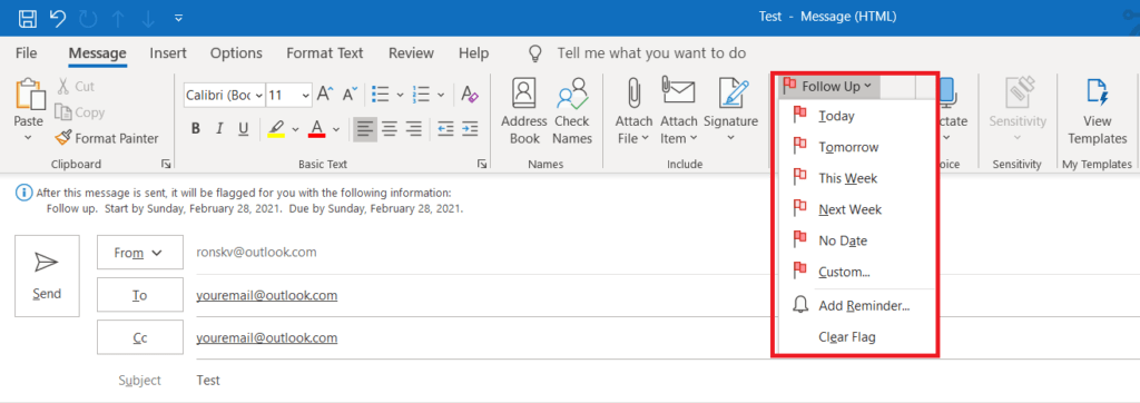 What are the features of Microsoft Outlook 365? 171