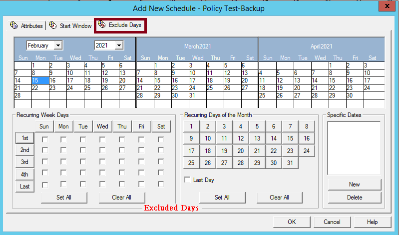 How to create NetBackup Policy and schedule 211