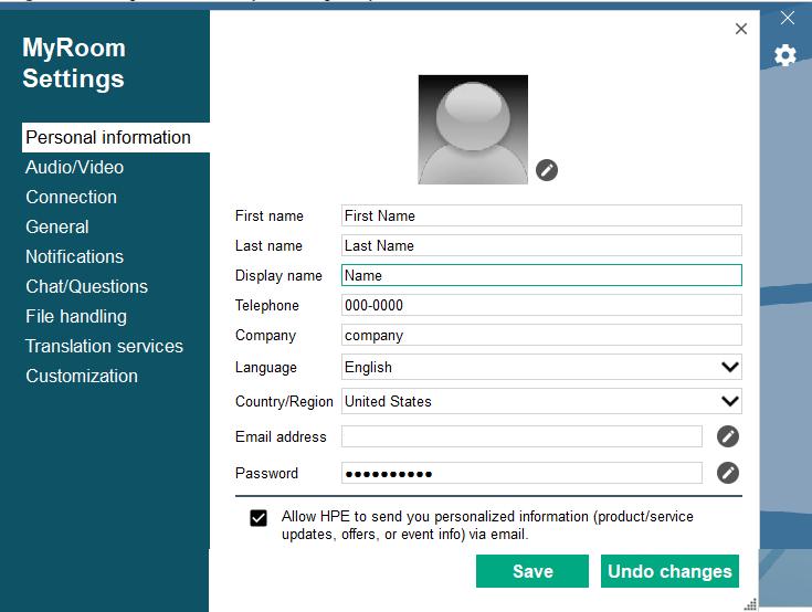 What is HPE MyRoom? 190