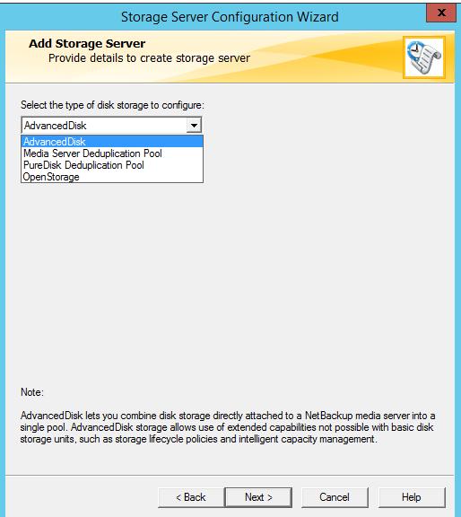 How to create AdvancedDisk Pool in NetBackup? 52