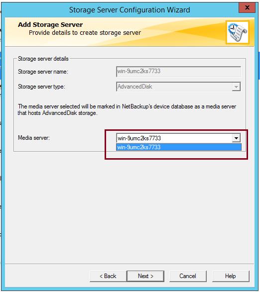 How to create AdvancedDisk Pool in NetBackup? 53