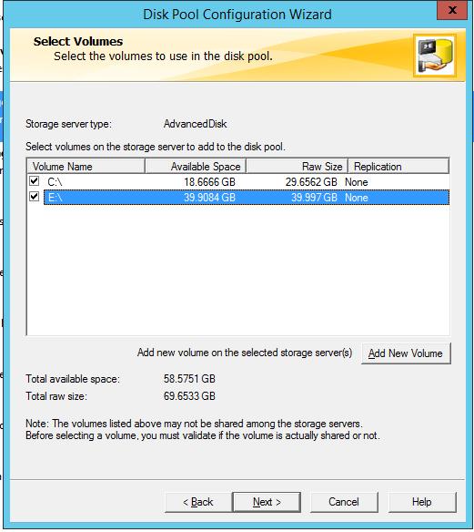How to create AdvancedDisk Pool in NetBackup? 56