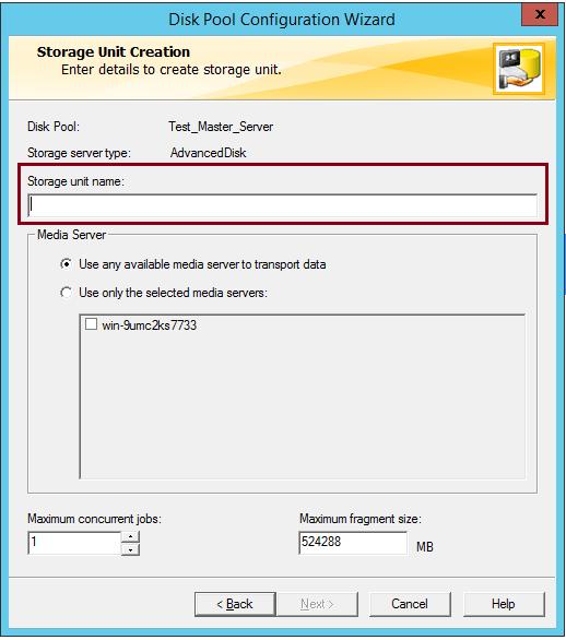 How to create AdvancedDisk Pool in NetBackup? 58