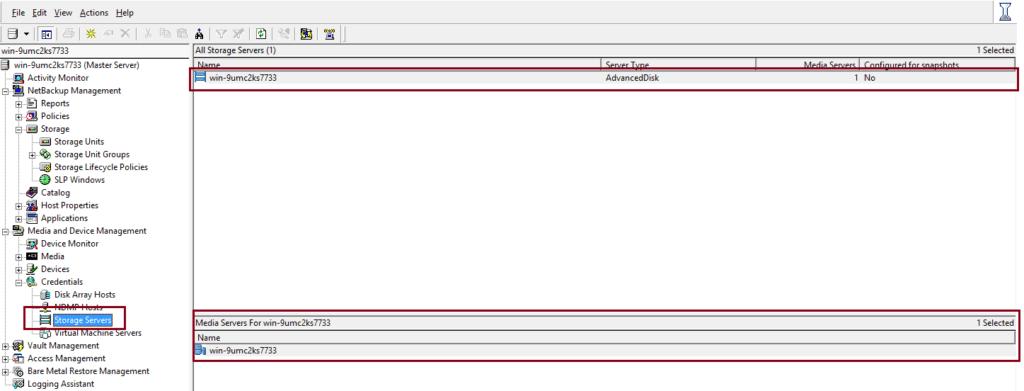 How to create AdvancedDisk Pool in NetBackup? 59
