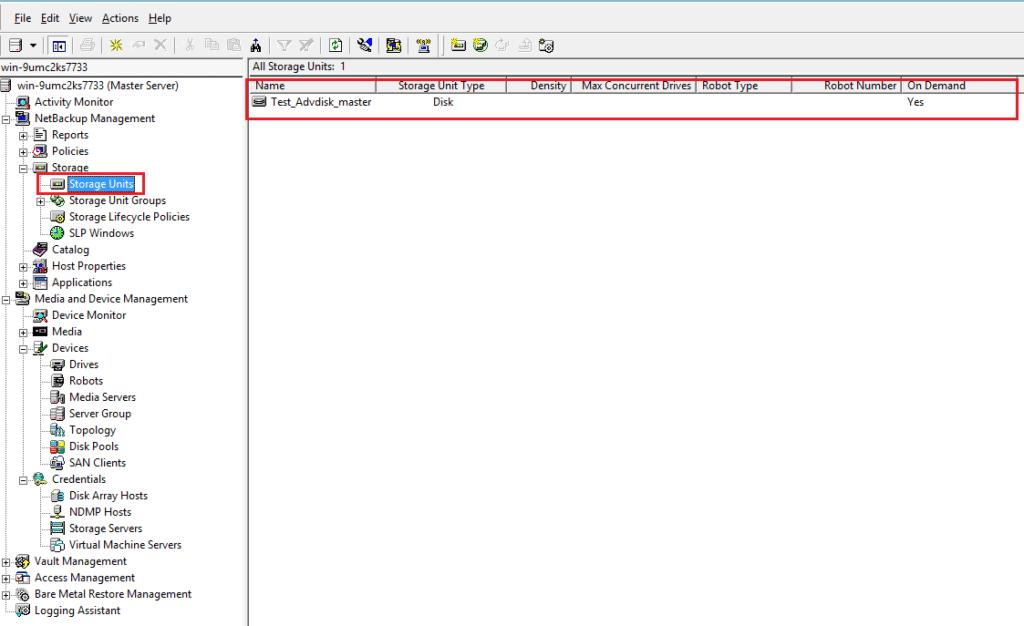 How to create AdvancedDisk Pool in NetBackup? 61