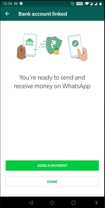 How to send and receive money from WhatsApp? 46