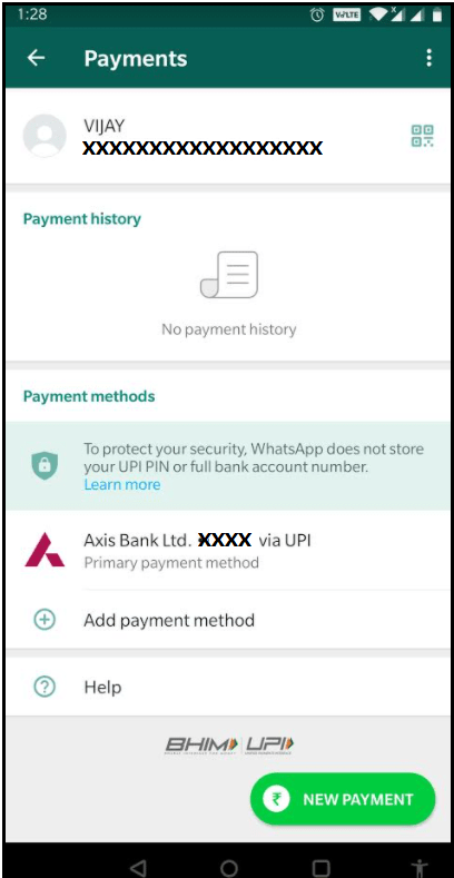 How to send and receive money from WhatsApp? 47