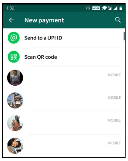 How to send and receive money from WhatsApp? 48