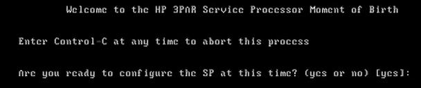 How to install 3par Virtual Service Processor 4.4 139