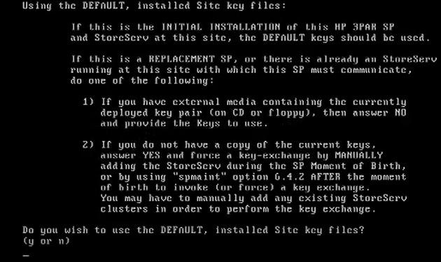 How to install 3par Virtual Service Processor 4.4 143