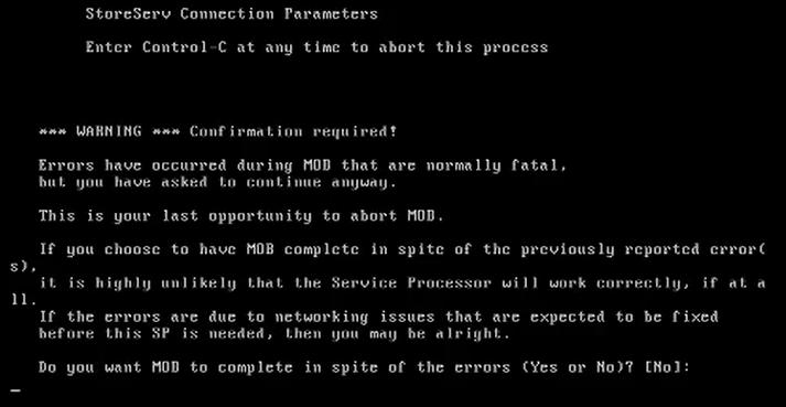 How to install 3par Virtual Service Processor 4.4 144