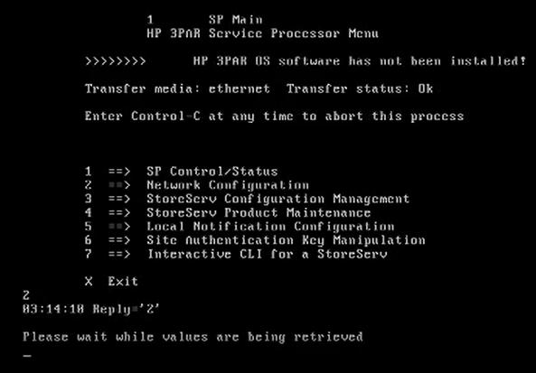 How to install 3par Virtual Service Processor 4.4 149