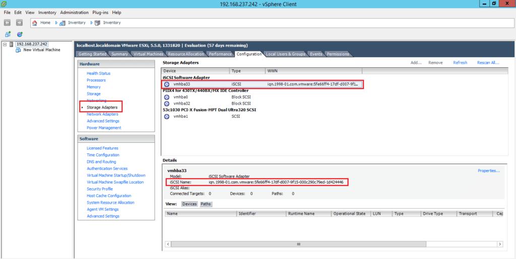 How to Add iSCSI Storage to Datastore in Vmware ESXi 5.5 97