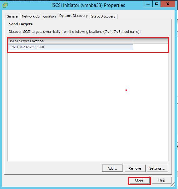 How to Add iSCSI Storage to Datastore in Vmware ESXi 5.5 106