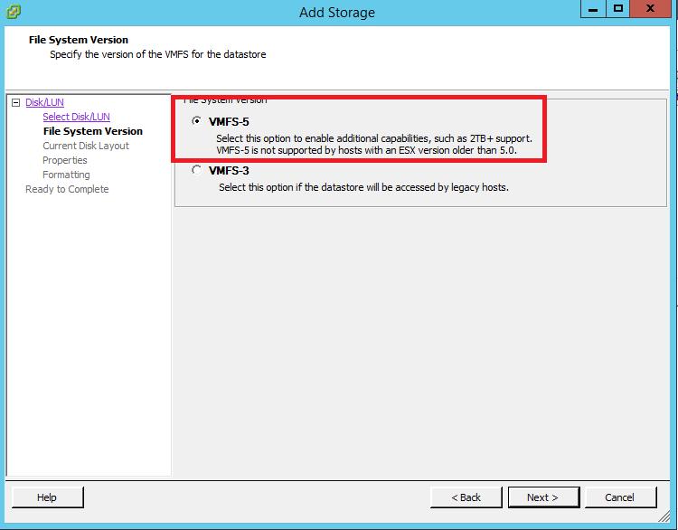 How to Add iSCSI Storage to Datastore in Vmware ESXi 5.5 111