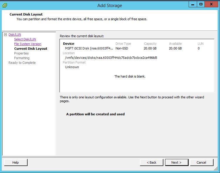 How to Add iSCSI Storage to Datastore in Vmware ESXi 5.5 112